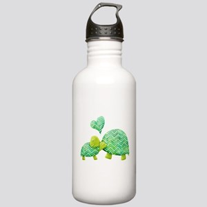 Turtle Hugs Stainless Water Bottle 1.0L